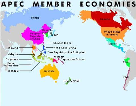 where do the members of apec meet